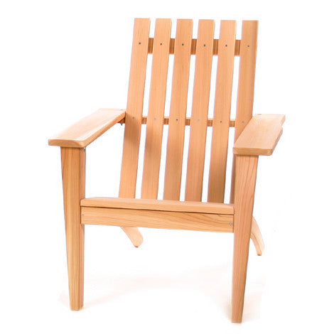 All Things Cedar AE21U Adirondack Easybac Chair - Outdoor Patio Supply