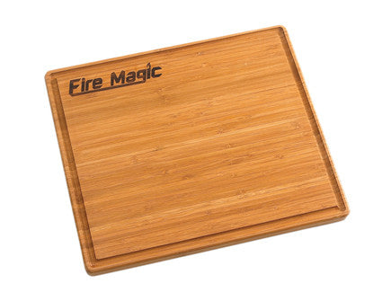 "Fire Magic 3582-1 Bamboo Cutting Board 12"" x 14"" - Outdoor Patio Supply"
