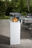 Bio-Blaze BB-CB Column Bio-ethanol Fireplaces - Outdoor Patio Supply - 5