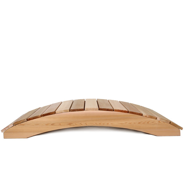 All Things Cedar FB48U 4' Garden Bridge - Outdoor Patio Supply