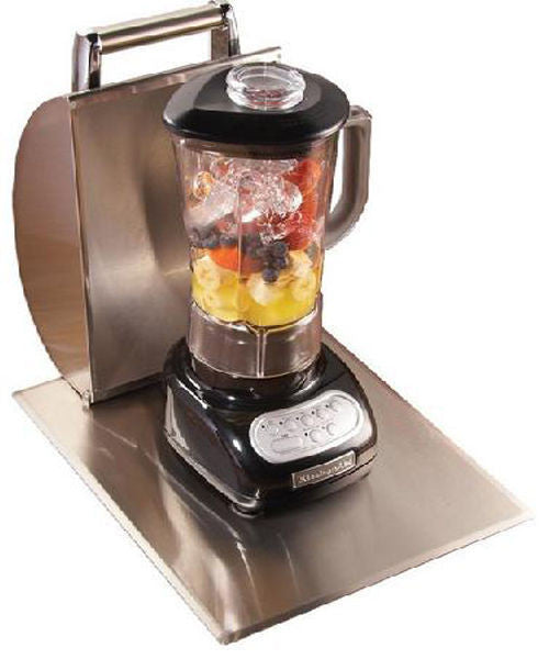FireMagic 3284A Stainless Steel 675 Watt Motor Blender w/ Hood - Outdoor Patio Supply