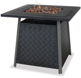UniFlame GAD1325SP LP Gas Outdoor Firebowl w/ Steel Mantel - Outdoor Patio Supply - 1