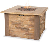 UniFlame GAD1338SP LP Gas Outdoor Firebowl w/ Faux Stone - Outdoor Patio Supply - 1