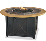 UniFlame GAD1362SP LP Gas Outdoor Firebowl w/ Slate - Outdoor Patio Supply - 1