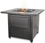 Endless Summer GAD1423M LP Gas Outdoor Fire Pit with Steel Mantel - Outdoor Patio Supply - 1