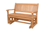 Anderson Teak GL-101 Del-Amo 4-Foot Glider - Outdoor Patio Supply