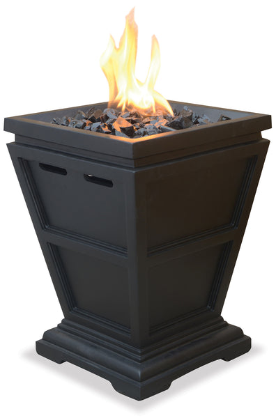 UniFlame GLT1343SP LP Gas Fireplace - Table Top - Outdoor Patio Supply