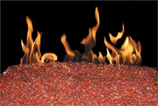Koi Colored Gems for Peterson Burner systems and Gas Firepits - Outdoor Patio Supply