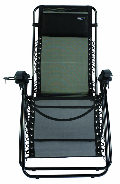 TravelChair 2189SS Lounge Lizard, Black - Outdoor Patio Supply