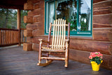 Montana Woodworks Glacier Country Collection Adult Log Outdoor Rocker - Outdoor Patio Supply - 1