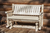 Montana Woodworks Montana Collection Outdoor Glider, Ready to Finish - Outdoor Patio Supply - 1
