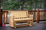 Montana Woodworks Montana Collection Outdoor Glider, Exterior Finish - Outdoor Patio Supply - 1