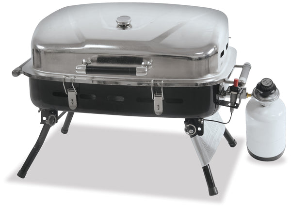 UniFlame NPG2302SS Portable LP Gas Barbecue Grill - Outdoor Patio Supply - 1