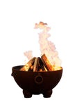 Fire Pit Art Nepal Steel Constructed Wood Burning Fire Pit - Outdoor Patio Supply - 1