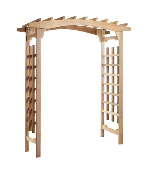 All Things Cedar PA96U Pagoda Arbor - Outdoor Patio Supply