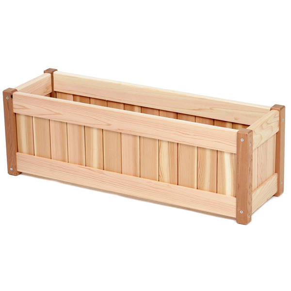 "All Things Cedar PL30U 30"" Planter  Box - Outdoor Patio Supply - 1"