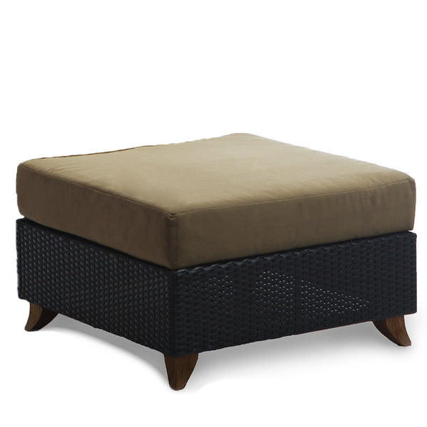 All Things Cedar PR25 Rattan Deep Seating Ottoman - Outdoor Patio Supply - 1