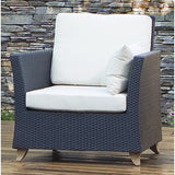 All Things Cedar PR30 Rattan Deep Seating Arm Chair - Outdoor Patio Supply - 6