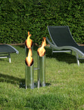 Bio-Blaze BB-PS Pipes Small Bio-ethanol Fireplaces - Outdoor Patio Supply - 2