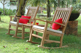 Anderson Teak SET-270 Palm Beach Rocking Chair Collection - Outdoor Patio Supply - 1