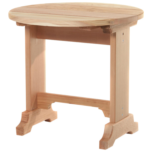 All Things Cedar ST22U Round Side Table - Outdoor Patio Supply