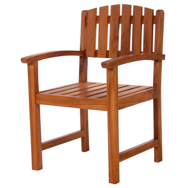 All Things Cedar TD20 Outdoor Dining Chair - Outdoor Patio Supply - 1