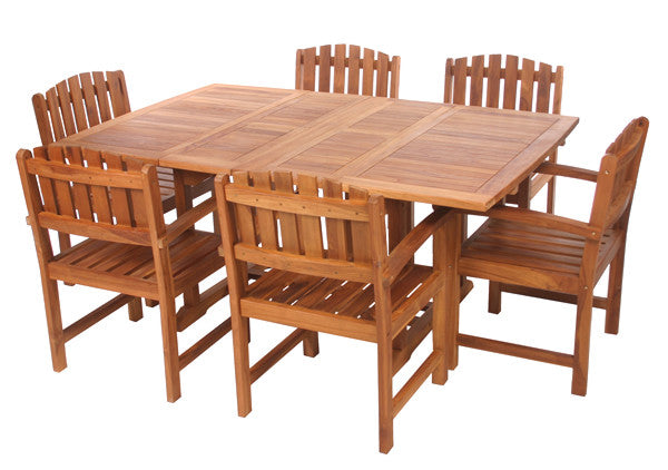 All Things Cedar TD72-20 5pc. Butterfly Dining Chair Set - Outdoor Patio Supply - 1