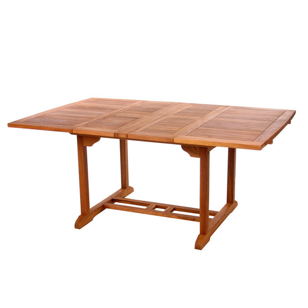 All Things Cedar TD72 Butterfly Extension Table - Outdoor Patio Supply - 1
