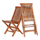 All Things Cedar TF22 Folding Chair - Outdoor Patio Supply - 2