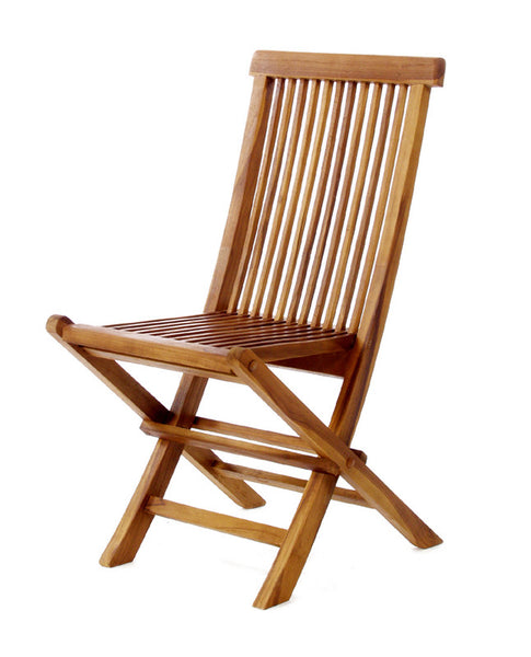 All Things Cedar TF22 Folding Chair - Outdoor Patio Supply - 1