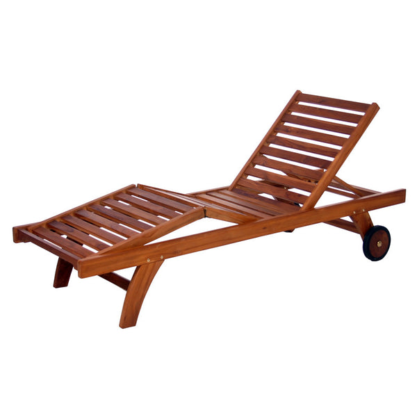 All Things Cedar TL78 Mult-position Chaise Lounger - Outdoor Patio Supply - 1