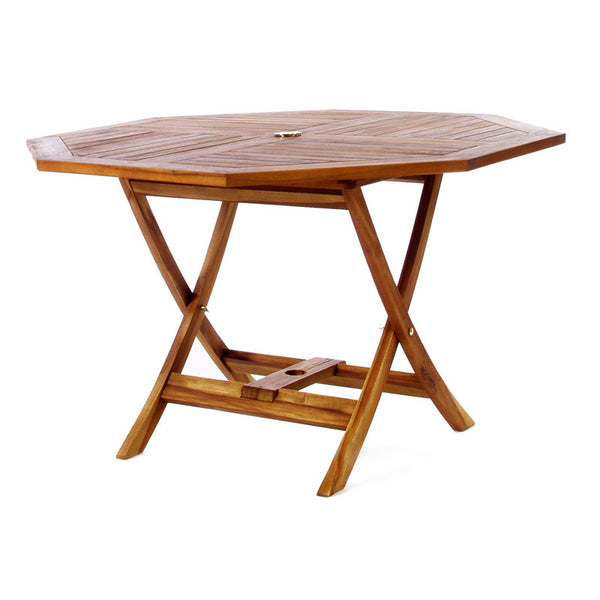 All Things Cedar TO48 Octagon Folding Table - Outdoor Patio Supply