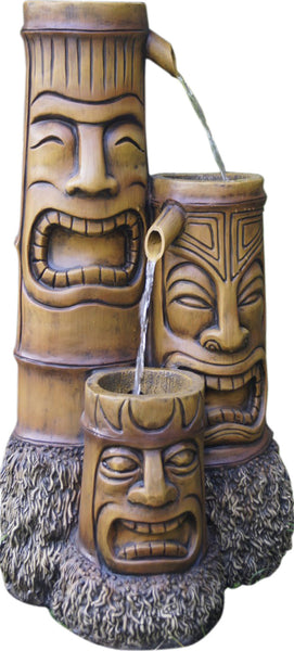 Bond Y95427 Makena Totem Water Fountain - Outdoor Patio Supply