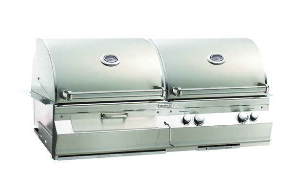 Fire Magic Aurora Gas and Charcoal Combo Grill For Built-in Kitchen - Outdoor Patio Supply