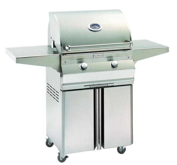 "Fire Magic Choice 24"" Cart Mount Gas Grill - Outdoor Patio Supply"