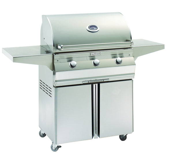 Fire Magic Choice Stand Alone Cart Gas Grill - Outdoor Patio Supply