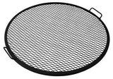"Sunnydaze 19"" Fire Pit Cooking Grill Mesh Grate - Outdoor Patio Supply - 1"