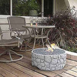 Patio Pleasures FP-2 River Rock Fire Pit - Outdoor Patio Supply - 1