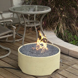 Patio Pleasures FP-1 Stucco Fire Pit - Outdoor Patio Supply - 1