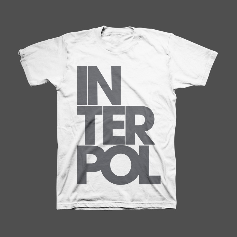 Stacked Unisex Tee - Interpol
