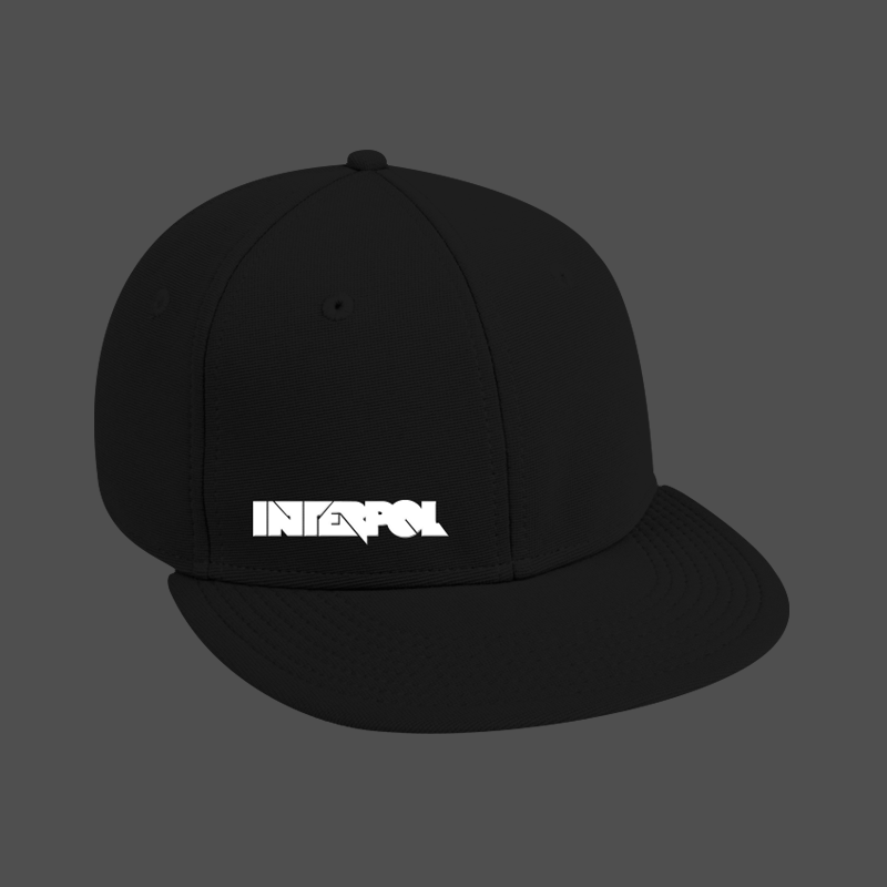 Boxy Logo Snap Back Hat - Interpol