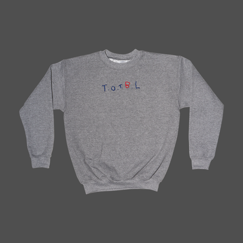 Stitched Youth Crewneck