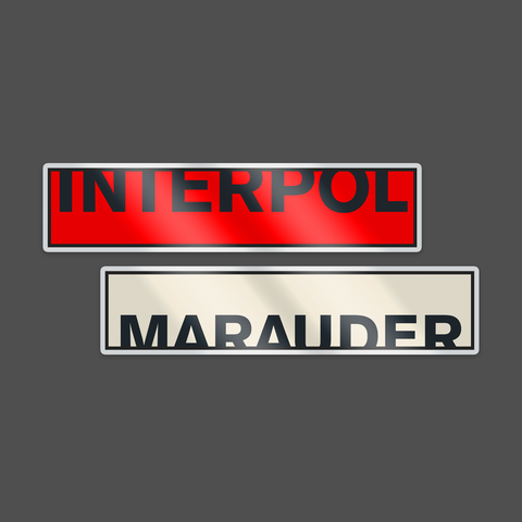 Marauder Pin Set