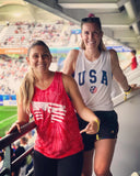 United We Score Tie Dye Tank - soccergrlprobs