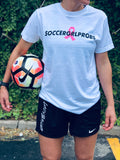 Kick For The Cure Breast Cancer T-Shirt - soccergrlprobs