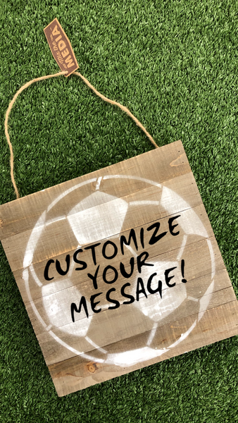Customizable Wood Sign Team Gift