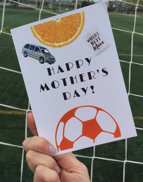 Mother's Day Card - soccergrlprobs