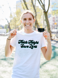 Thick Thighs Save Lives T-Shirt - soccergrlprobs