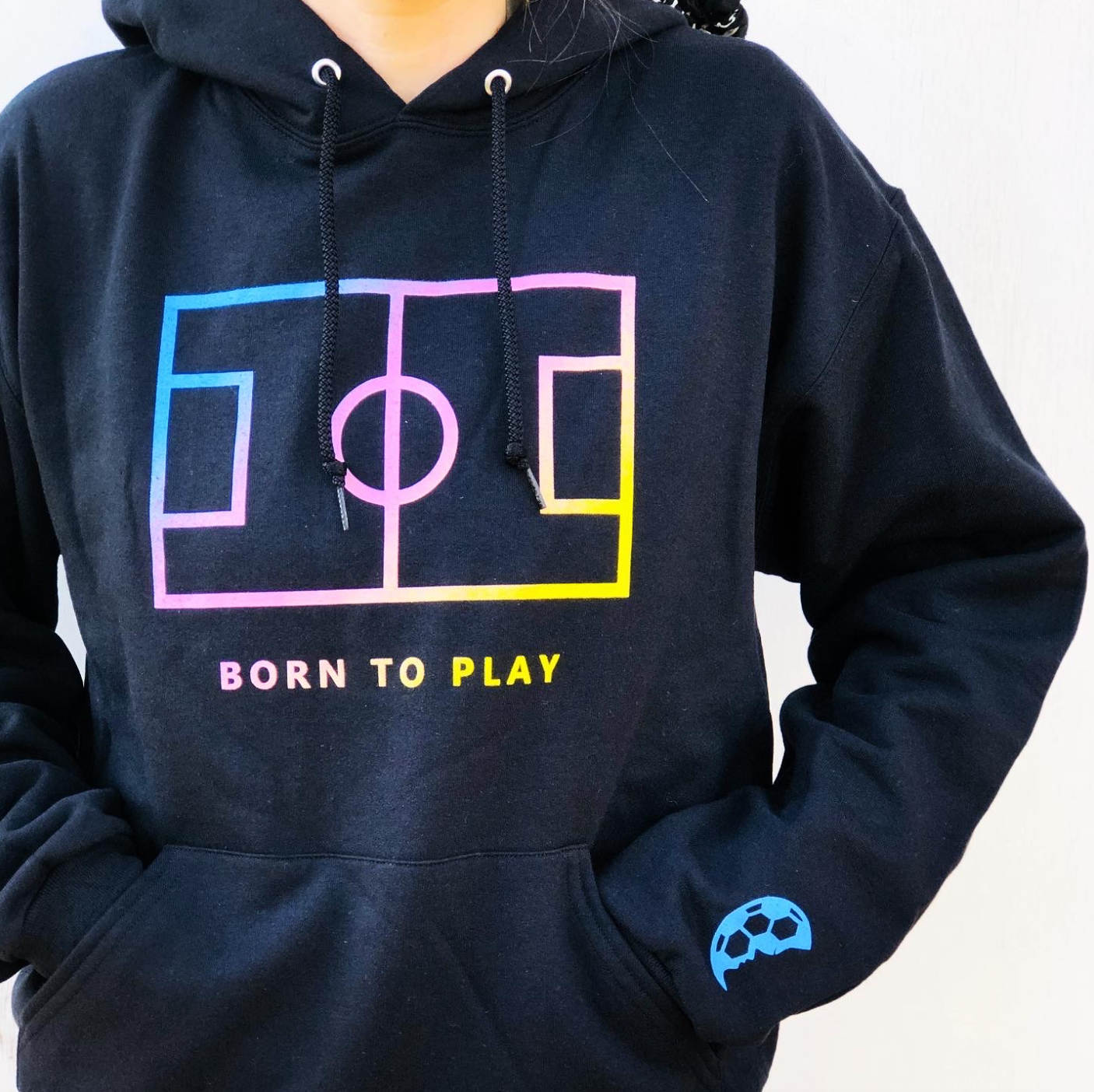 Born To Play Sweatshirt - soccergrlprobs