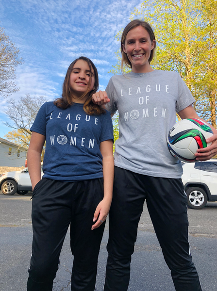 League of Women NWSLPA T-Shirt - soccergrlprobs
